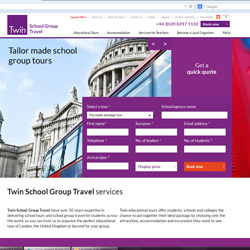 Twin Launches New Group Travel Website